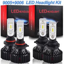 For Honda Accord 1990-2006 9005 9006 LED Headlight High Low Beam Combo Bulbs Kit