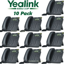 10 Yealink T19P-E2 Entry Level 1 Line IP SIP Phone PoE Two Port 10/100 Ethernet