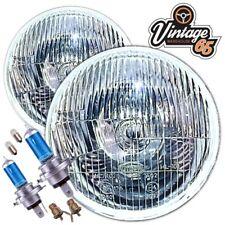 "Classic Car 7"" Sealed Beam Upgrade Halogen Conversion Headlight Kit Xenon Bulbs"