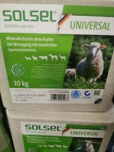 10kg Mineralleckstein Leckstein Salzleckstein Natrium Universal ohne Kupfer