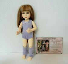 "Berdine Creedy 10"" Bjd Resin Doll ""Lolly-Pop"" 2010 Dancing with Grace"