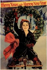MERRY X-MAS AND A HAPPY NEW YEAR Movie POSTER 27x40 Shirley Temple