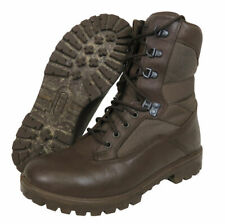 More details for genuine army issue yds boots - brown  - mtp uniform ready - all uk sizes.