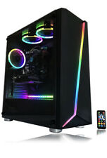 Gaming PC Desktop Computer With LED Remote