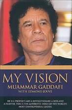(Very Good)-My Vision (Hardcover)-Jouve, Edmond, Gadaffi, Muammer-1844541290
