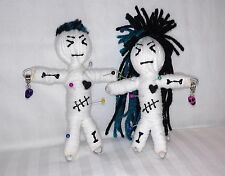 Charm Pair Authentic Voodoo Dolls real 7 pins new orleans Karma keepers hoodoo