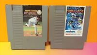 Roger Clemens MVP + Baseball Simulator 1000 Nintendo NES Authentic Game Tested