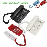 Mini Wall Mount Corded Phone Landline Telephone  Home Office Desktop Caller ID