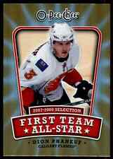 2008-09 O-Pee-Chee Trophies/Logo/All-Star Dion Phaneuf #1ST-DP
