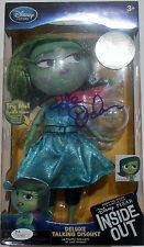 Pete Docter Signed Inside Out Toy w/JSA COA M748881 Talking Disgust