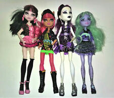 Monster High Lot 4 Dolls - Quick Shipping!!
