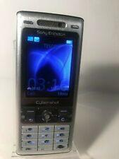 Sony Ericsson Cyber-Shot K800i - Silver (Unlocked) Mobile Phone