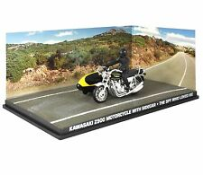 JAMES BOND KAWASAKI Z900 MOTORCYCLE WITH SIDECAR THE SPY WHO LOVED ME - 1:43