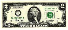 Etats UNIS AMERIQUE USA Billet 2 $ Dollars NEUF UNC
