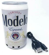 Beer Can Shaped Cerveza Modelo Speaker FM Radio Stations and USB Charger 5W