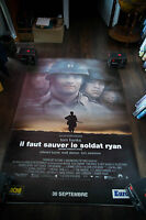 SAVING PRIVATE RYAN 4x6 ft Bus Shelter Vintage Movie Poster Original 1998