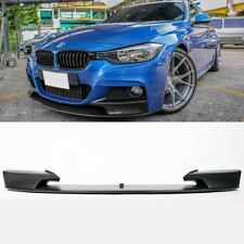 BMW 3 Series F30 12- Black M Performance Front Spoiler Splitter Lip Chin