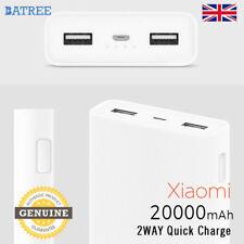 New Xiaomi Genuine Mi 20000mAh Power Bank 2C Quick Charge 3.0  Dual USB