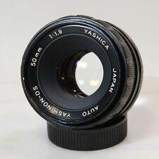 Yashinon-DS 50mm f/1.9 Prime Pentax M42 Mount Lens Adapt Mirrorless (C1038)