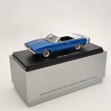 1:43 DODGE CHARGER R/T SE 1969 - blue & white Resin Limited Models