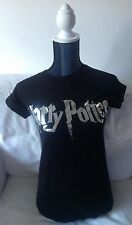 New! Harry Potter Silver Foil Style T Shirt Size  S Small