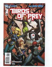 Birds of Prey # 1 Regular Cover NM DC New 52 N52