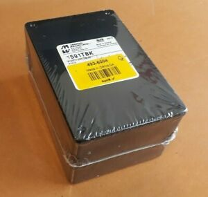 Reduced Hammond 1591, ABS Enclosure, IP54, 120 x 80 x 59mm Black