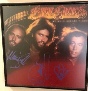 "Bee Gees ""Spirits Having Flown"" LP, Autographed"