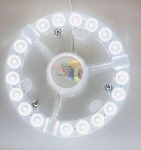 18W LED Modul Kaltweiss  Umrüstmodul Umbau Set Nachrüstungen 220V Rundlampe G10q