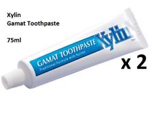 2 Tubes Xylin Sea Cucumber Gamat Plus Toothpaste Sugar Free Healthier Gum 75ml