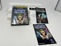 -No Game- Luigi's Mansion (Nintendo GameCube, 2001) Case and Manual only