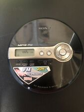 SONY D-NF340 FM and portable CD player walkman TEESTED