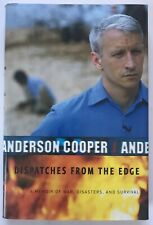 Anderson Cooper Dispatches from the Edge SIGNED 2006 HCDJ