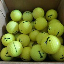 48 Srixon soft feel golf balls yellow used.. good shape.. see photos