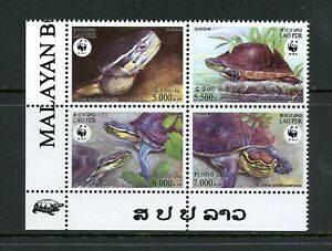 Y693 Laos 2004 Tortues Bloc MNH
