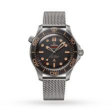 James Bond No Time To Die Titanium Omega Seamaster Diver 300M 007 Watch 42 mm