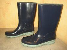 Bleu Spirale Bottes en caoutchouc, Bottes de pluie, taille 38 (39), Unisexe, Topp