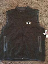 NFL Green Bay Packers Knit Zippered Sweater Vest 3XL men's