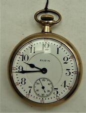 B.W.Raymond, Elgin,Railroad Pocket watch, drw15
