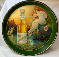"VOIGT'S RHEINGOLD ""Castle, Sunset, Gorgeous Gal"" TRAY - Museum Quality!!!"