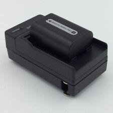 Battery AND Charger for SONY Handycam HDR-XR500V HDR-XR520V HDR-XR550V Camcorder