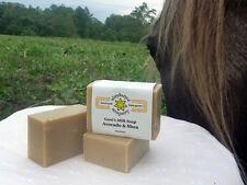 Homemade Goat's Milk Soap ~Avocado & Shea Butter ~ Handmade Soap ~ Local Honey