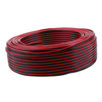 Universal 100Meter Speaker Wire Kits 0.5mm² PVC Cable for Car Home Outdoor