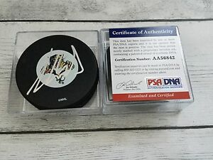 Aaron Ekblad Signed Florida Panthers Hockey Puck PSA DNA COA Autographed a