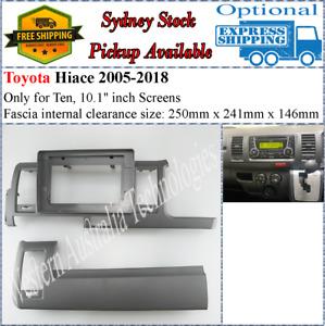 For 10 Ten Inch Screen Fascia facia Fits Toyota Hiace 2005-2018-