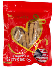 Hand-selected A Grade American Ginseng Medium Thin-Short Size (4oz 8oz 1lb Bag)