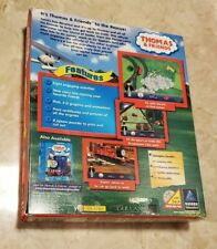 Thomas & Friends: Trouble On The Tracks Pc Cd kids railroad train engine game!