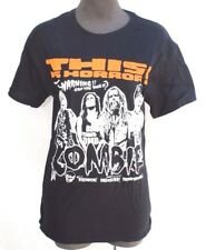 New Mens Rob Zombie 2012 Concert Tour This Is Horror Graphic Tee T-Shirt X Large