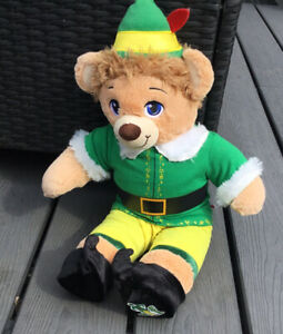 Build A Bear Elf Buddy Christmas Movie Complete With Shoes