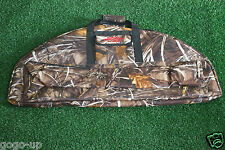 Thicken Bag Hunting Compound Bow Case Archery Shooting Camo Large Space Storage